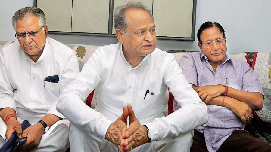 Rajasthan CM Ashok Gehlot makes aerial survey of flood-hit areas, promises relief