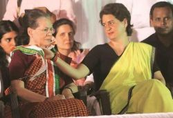 Complaint against Sonia, Priyanka over 'provocative' speeches against CAA