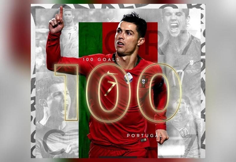 Ronaldo becomes second male footballer in history to score 100 ...