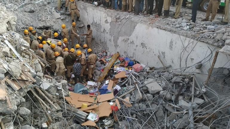 Karnataka building collapse: Death toll rises to 14, rescue operations continue