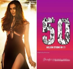 Deepika Padukone Celebrates 50 Million Fan Following