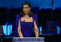 As I speak, one more person has committed suicide: Deepika at WEF 2020