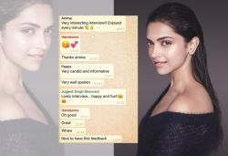 This is how we roll: Deepika shares screenshot of family WhatsApp group