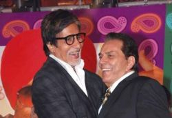 My courageous brother Big B will be fit in a day or two: Dharmendra