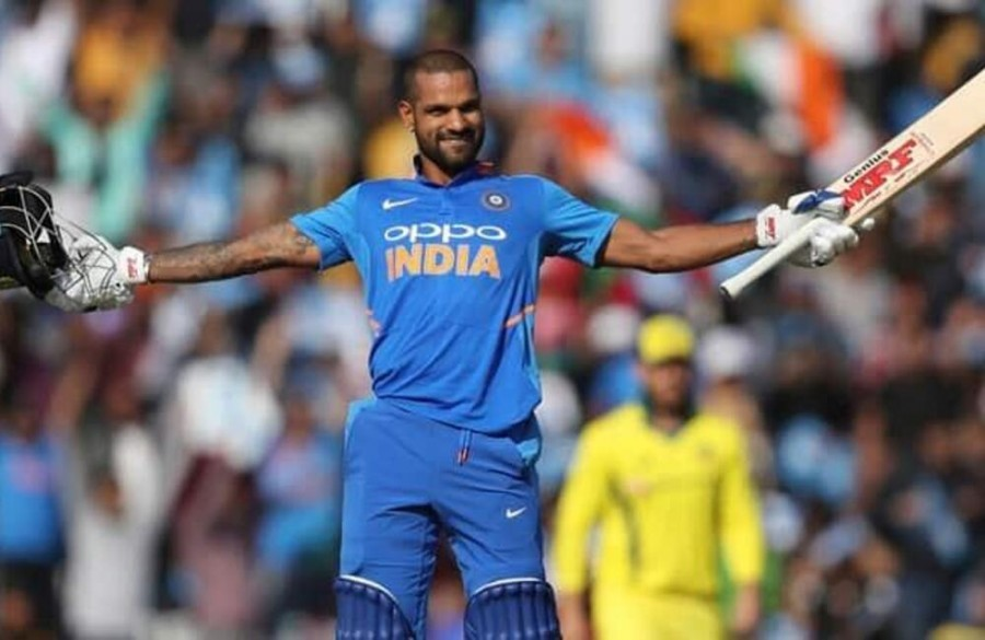 Dhawan 3rd Indian after Ganguly, Sachin to hit at least 3 tons in WC