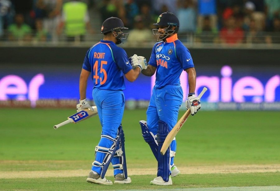 Rohit, Dhawan become most successful opening pair vs Aus in ODIs