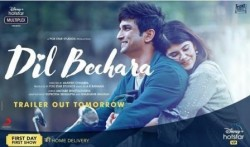 21 Million Hits And Support From Fraternity, Dil Bechara Trailer Goes Viral