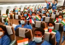 105-member medical team from Kerala travels to UAE for COVID-19 mission