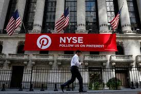 Pinterest Files for IPO, Intends to List on NYSE