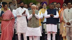 57-member Team Modi in place, first cabinet meet today