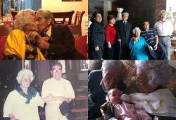 Ecuadorian couple become world's oldest married couple with aggregate age of 214 years