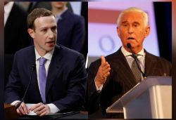 Facebook removes accounts linked to Trump's ex-aide Roger Stone