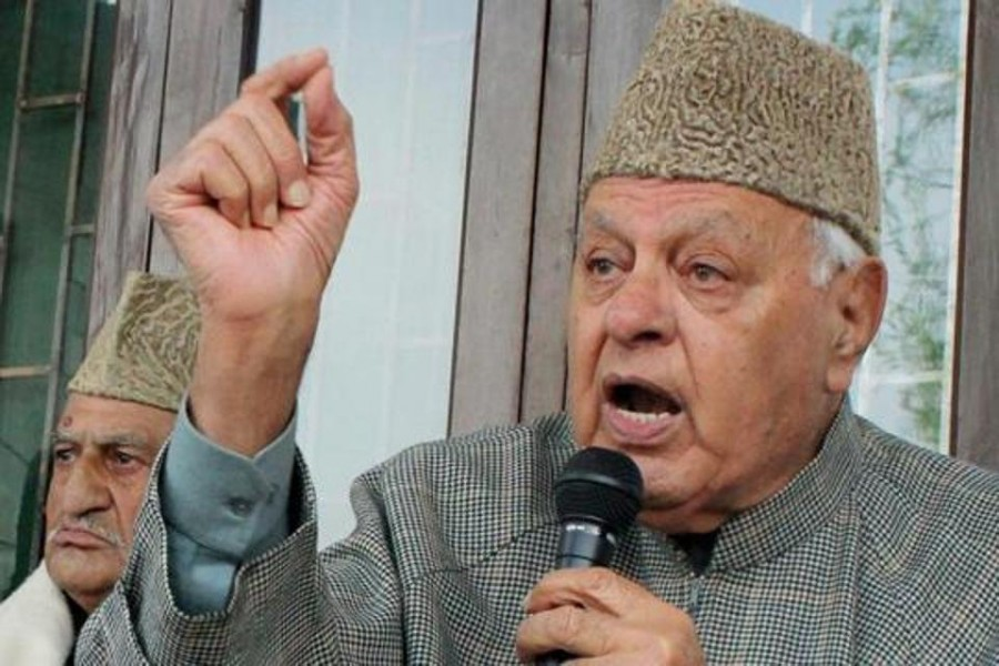 Ex-J&K chief minister Farooq Abdullah detained under public safety law