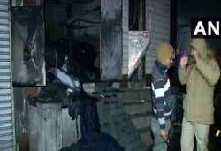 9 dead, 3 injured after fire breaks out at cloth godown in Delhi's Kirari