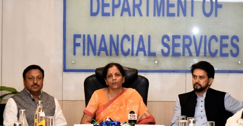 Finance Minister Nirmala Sitharaman review the performance of banks with PSBs' Top Management