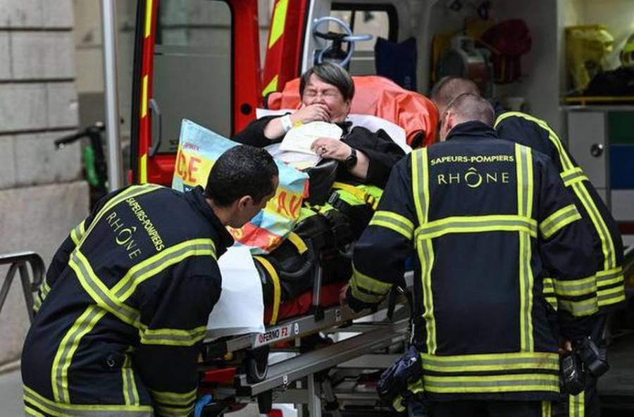 At least 13 wounded in package bomb blast in France's Lyon