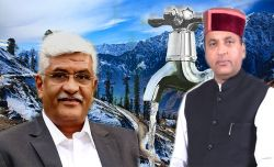 Union Minister of Jal Shakti held discussion with Himachal CM, State to provide tap connections to all rural households by 2022