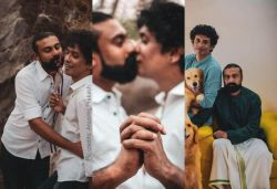 Wanted to show it's normal: Kerala gay couple as pre-wedding shoot goes viral