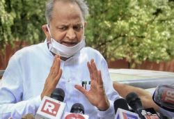 MLAs backing Pilot crying over phone, they are held captive, I'm not here to sell vegetables : Gehlot