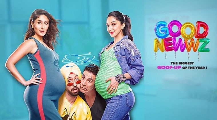 Good Newwz posters Out: Akshay, Kareena, Diljit and Kiara film going to be a quirky take on surrogacy