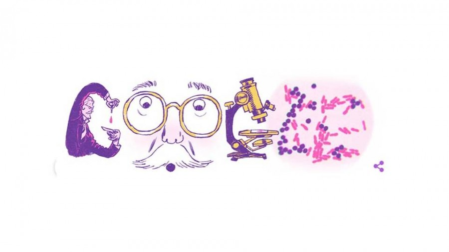Google celebrates Hans Christian Joachim Gram with a doodle