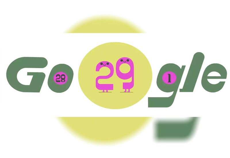 Google Celebrates Leap Day With Doodle