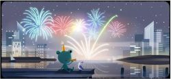 Google celebrate New Year Eve 2019 with Doodle features familiar frog