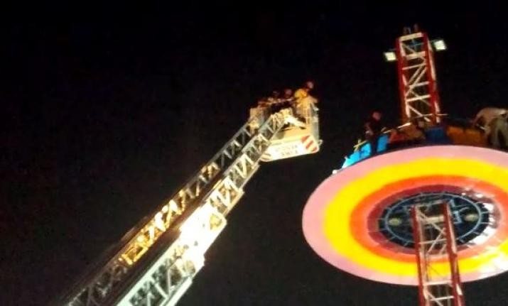 Ahmedabad: 14 children among 40 rescued from tall merry-go-round fire