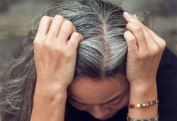 Scientists explain how stress causes graying of hair