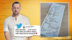 Hollywood actor-singer leaves ₹1.4 lakh tip for waitress on bill of ₹5,600