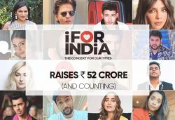 'I for India' concert raises over ₹52 cr for COVID-19 relief