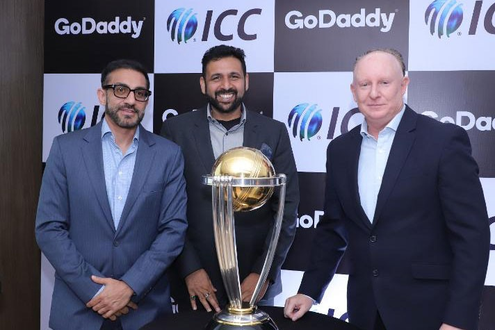 GoDaddy becomes official sponsor of ICC World Cup 2019