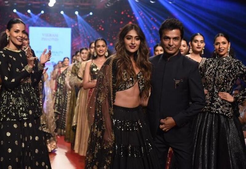 Ileana D'Cruz walks for Vikram Phadnis at Bombay Times Fashion Week