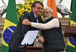 India, Brazil sign 15 pacts during Prez Bolsonaro's first visit
