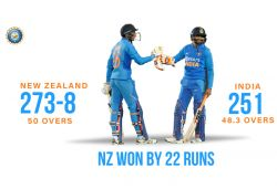 New Zealand win an ODI series against India after 6 years