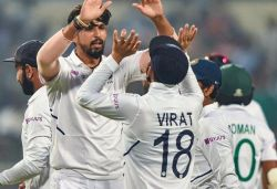 India defeat Bangladesh within 3 days in their first Day-Night Test