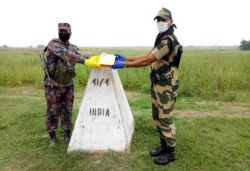 No Eid sweets exchanged by BSF with Pakistan; done with Bangladesh