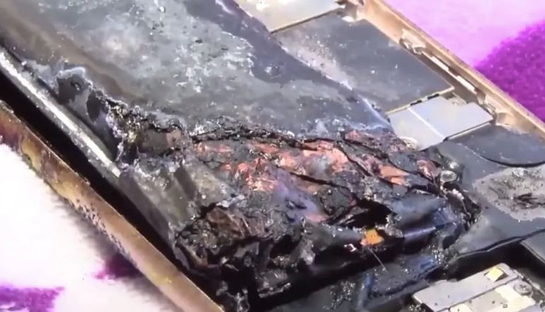 11-Year-Old's iPhone 6 Catches Fire in the US