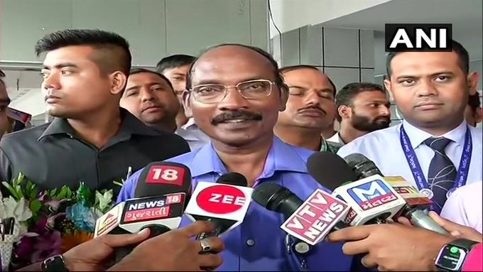 We have got no signal from lander but Chandrayaan-2 orbiter is working very well: ISRO Chief K Sivan