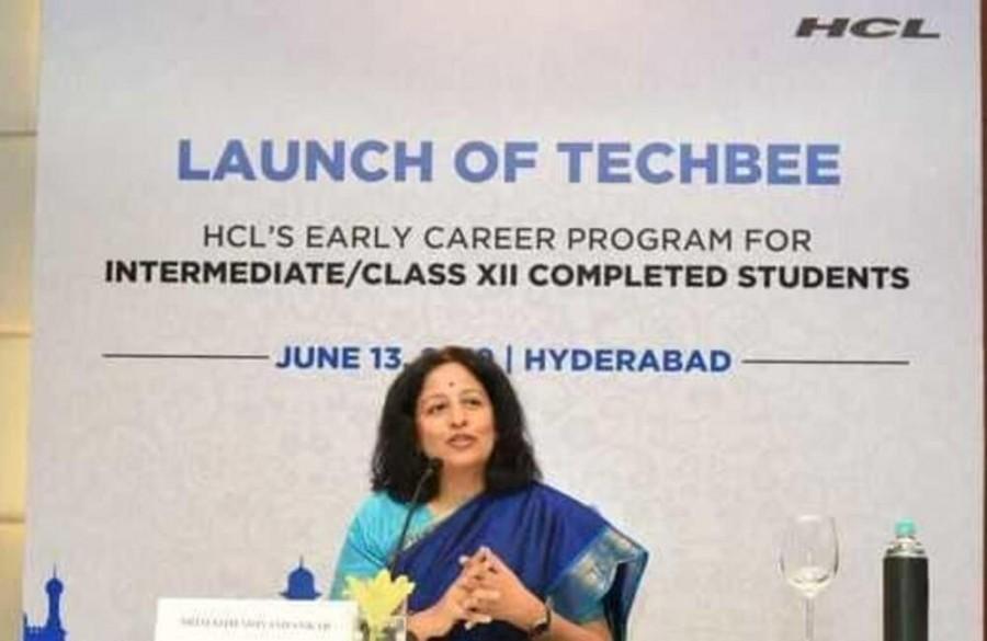 HCL will roll out 'Tech Bee' soon; to hire and train students for IT jobs