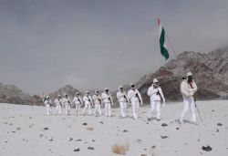 ITBP personnel celebrate R-Day at 17,000 ft in Ladakh, video surfaces