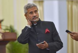 Jaishankar discusses ongoing situation with Chinese Foreign Minister on phone