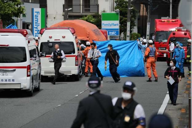 Two feared dead, 17 hurt after Japan mass stabbing