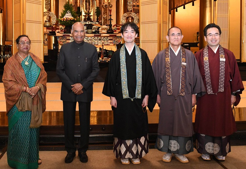 President Kovind attends Enthronement Ceremony of Japan's Emperor Naruhito