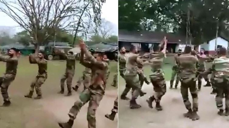 Anand Mahindra posts video of jawans playing Garba on Twitter, asks how's the josh