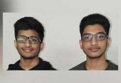 Twin brothers who scored 100 & 99.9 percentile in JEE Main to take exam again