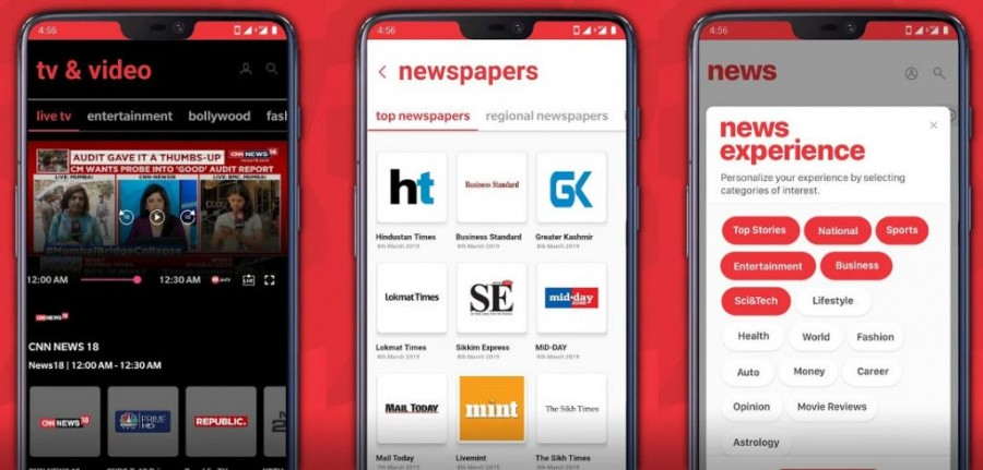 Reliance Jio launches JioNews, a one-stop platform for newspapers, magazines