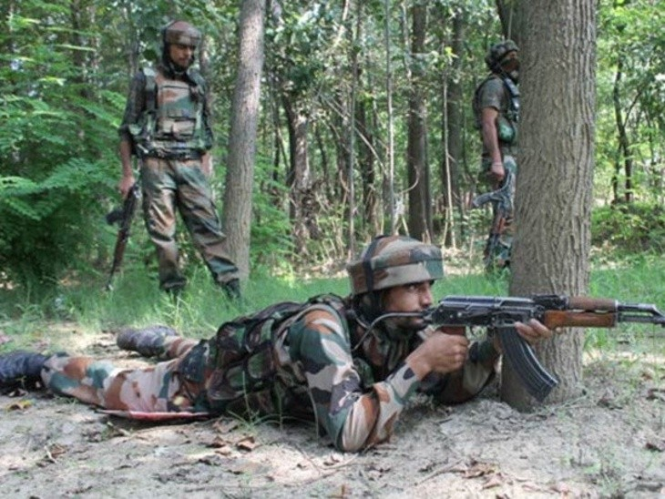 Four militants killed in encounter with security forces in J&K's Pulwama