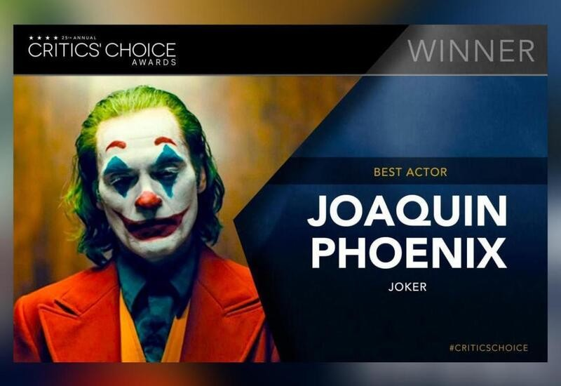 Joaquin Phoenix wins Best Actor for 'Joker' at Critics' Choice Awards