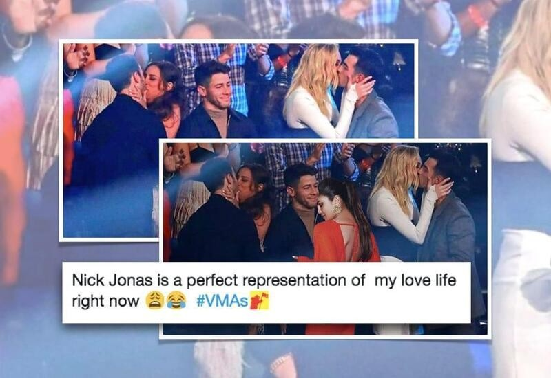 Priyanka photoshops herself in Nick's viral 'forever alone' meme